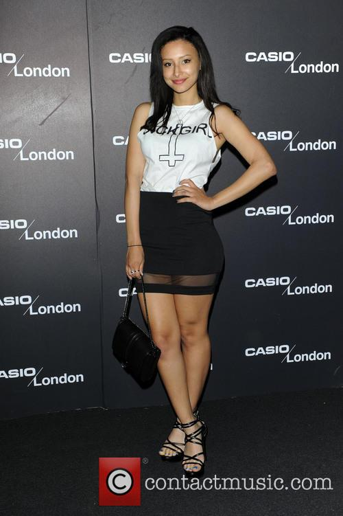 8efd4a15e Leah Weller - Casio London Store 1st birthday party