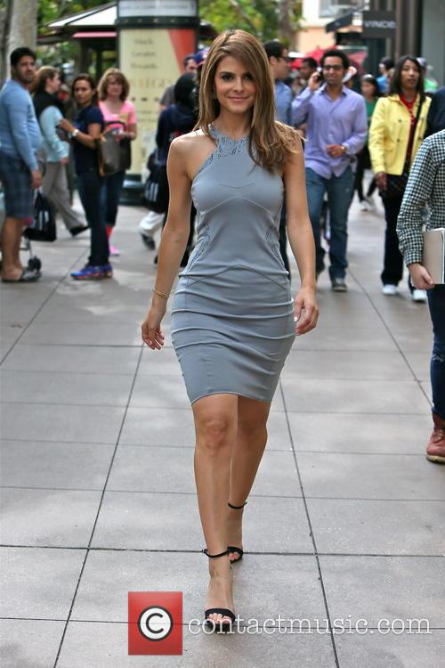 Maria Menounos at The Grove for television show...