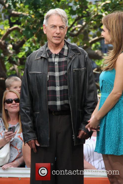 mark harmon celebrities at the grove for 3653531