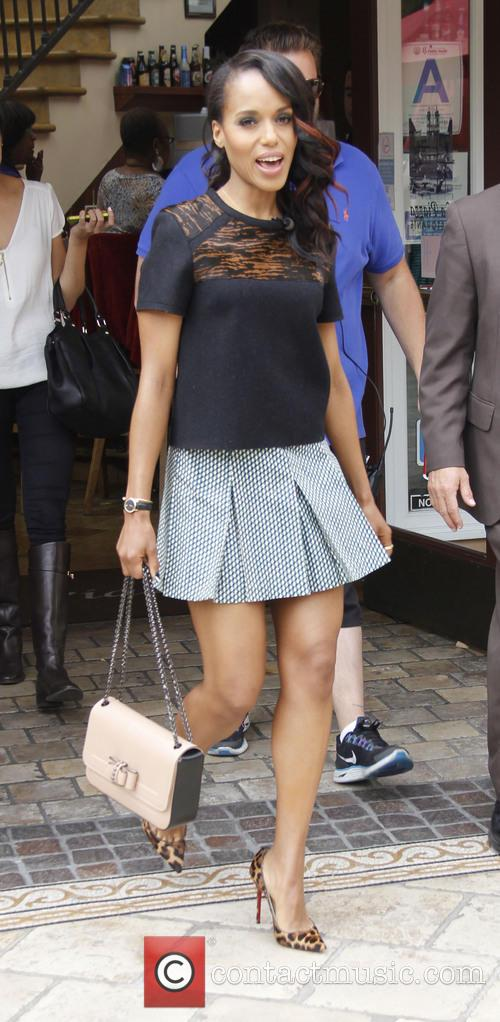 kerry washington celebrities at the grove for 3653630