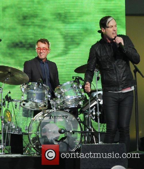 Fitz And The Tantrums, Jimmy Kimmel Live and Michael Fitzpatrick 6