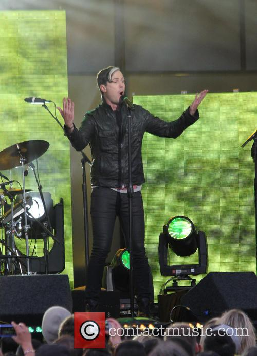 Fitz And The Tantrums, Michael Fitzpatrick and Jimmy Kimmel Live 9