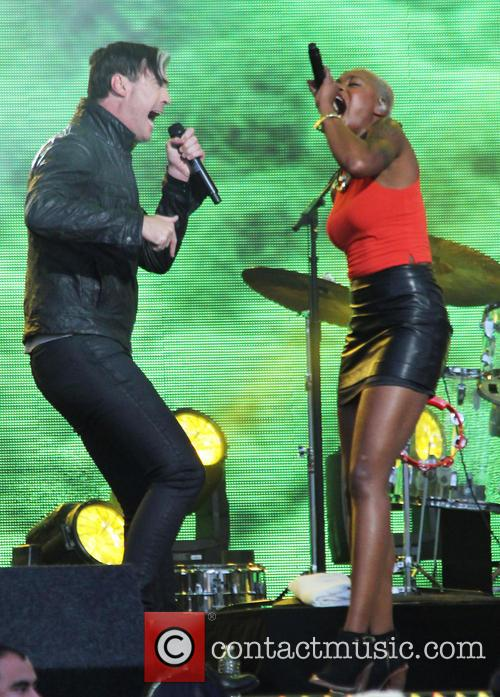 Fitz And The Tantrums, Michael Fitzpatrick and Noelle Scaggs 11