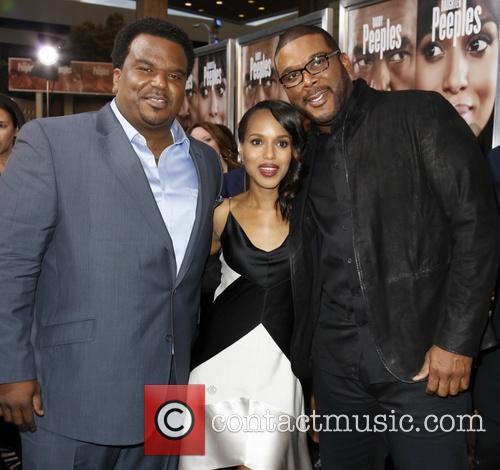Craig Robinson, Kerry Washington and Tyler Perry 2