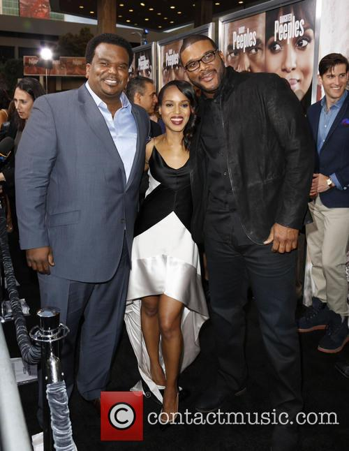 Craig Robinson, Kerry Washington and Tyler Perry 3