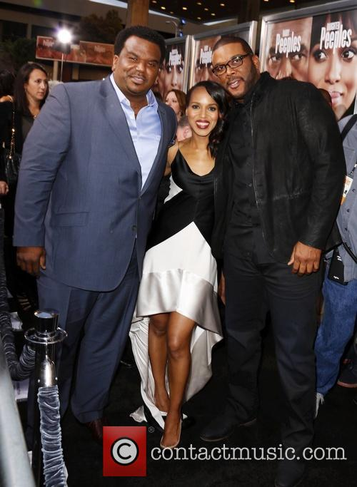 Craig Robinson, Kerry Washington and Tyler Perry 4