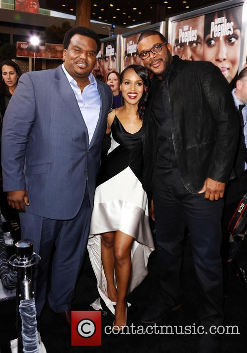Craig Robinson, Kerry Washington and Tyler Perry 1