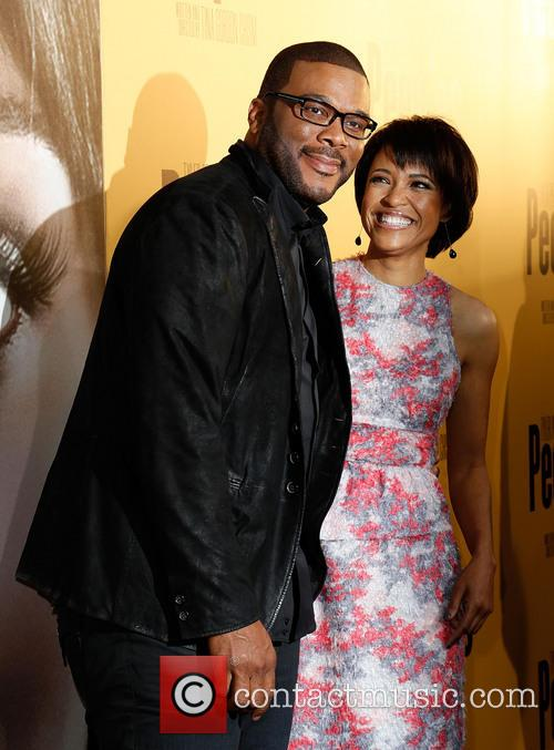 Tyler Perry and Tina Gordon Chism 1