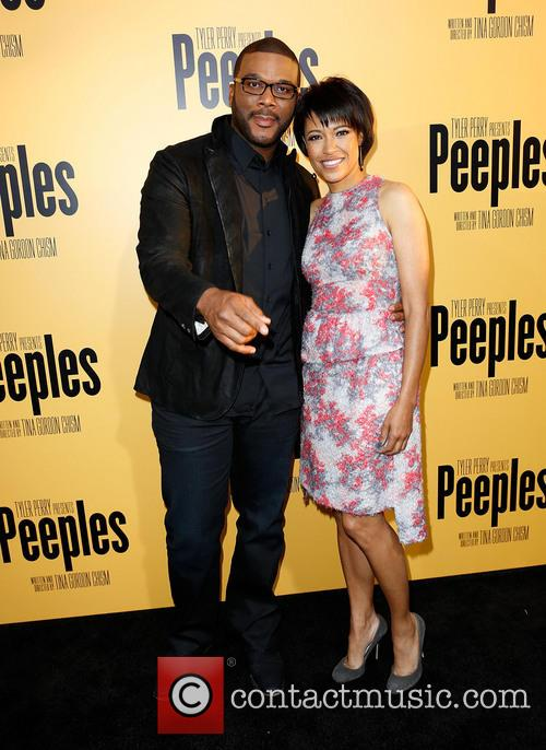 Tyler Perry and Tina Gordon Chism 2