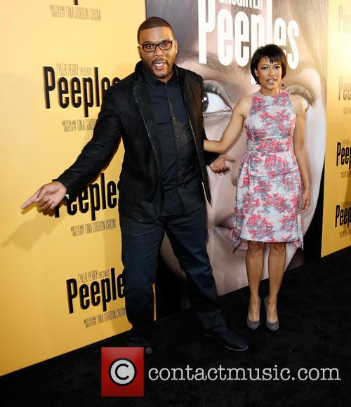Tyler Perry and Tina Gordon Chism 3