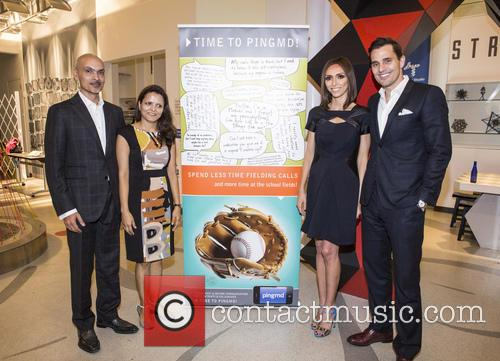 Dr.gopal Chopra, Manju Chopra, Bill Rancic and Giuliana Rancic 1