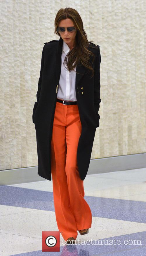 Victoria Beckham at JFK Airport