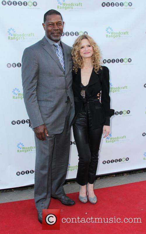 Dennis Haysbert and Kyra Sedgwick 2