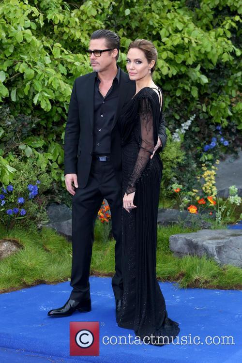 Brad Pitt and Angelina Jolie 1