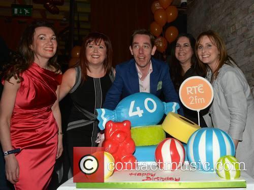 Ryan Tubridy celebrates his 40th Birthday at No.37...