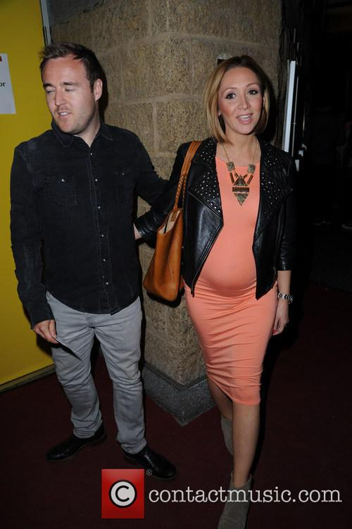 Alan Halsall and Lucy-jo Hudson 1