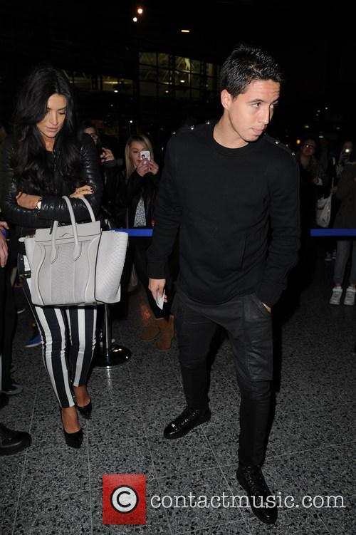 samir nasri guest celebs arriving for the beyonce 3654210