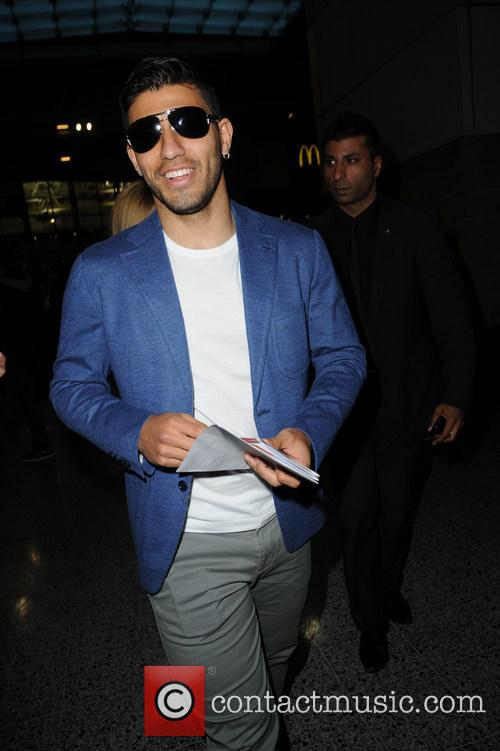 sergio aguero celebs arriving for the beyonce 3654209
