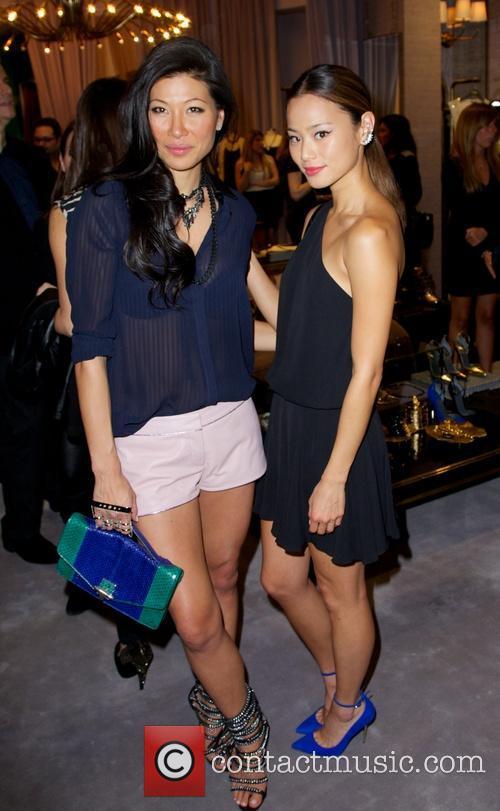 Monika Chiang and Jamie Chung 9
