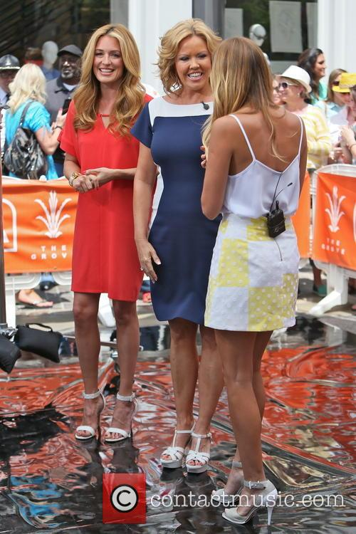 Cat Deeley, Mary Murphy and Renee Bargh 2