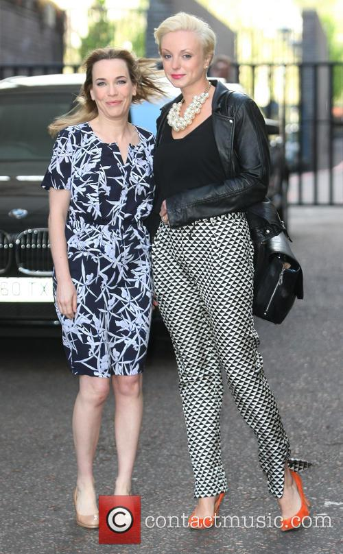 Helen George and Laura Main 2