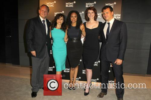 Jan Patrick Schmitz, Rosie Perez, Tracie Thoms, Diane Neal and Philip Courtney 2