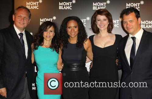 Jan Patrick Schmitz, Rosie Perez, Tracie Thoms, Diane Neal and Philip Courtney 1