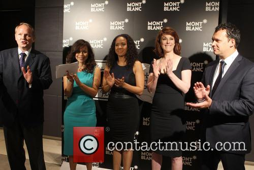 Jan Patrick Schmitz, Rosie Perez, Tracie Thoms, Diane Neal and Philip Courtney 6