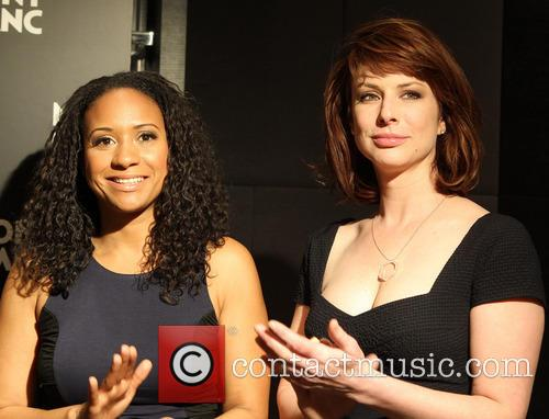 Tracie Thoms and Diane Neal 7