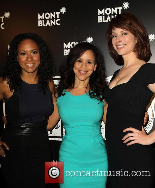 Tracie Thoms, Rosie Perez and Diane Neal 2