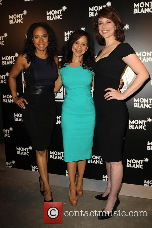 Tracie Thoms, Rosie Perez and Diane Neal 3
