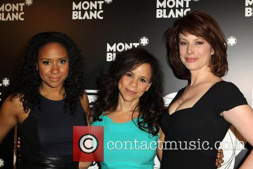 Tracie Thoms, Rosie Perez and Diane Neal 1