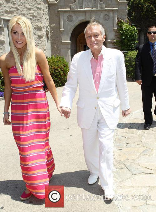 Hugh Hefner and Crystal Hefner 3