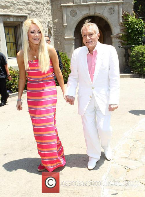 Crystal Hefner and Hugh Hefner 2
