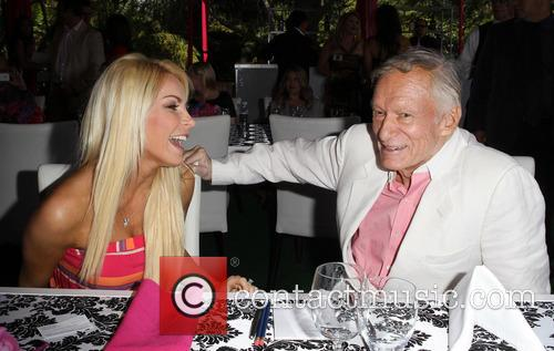 Crystal Hefner and Hugh Hefner 4