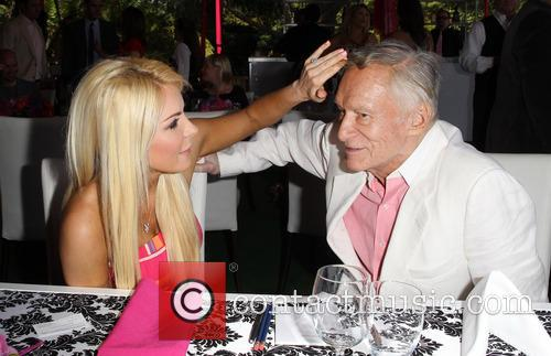 Crystal Hefner and Hugh Hefner 6