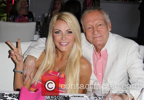 Crystal Hefner and Hugh Hefner 7