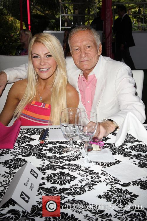 Crystal Hefner and Hugh Hefner