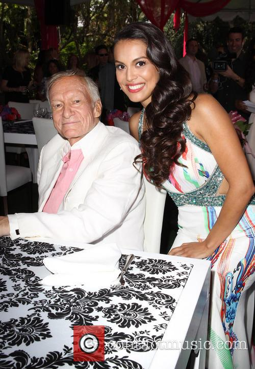 Hugh Hefner and Raquel Pomplun 11