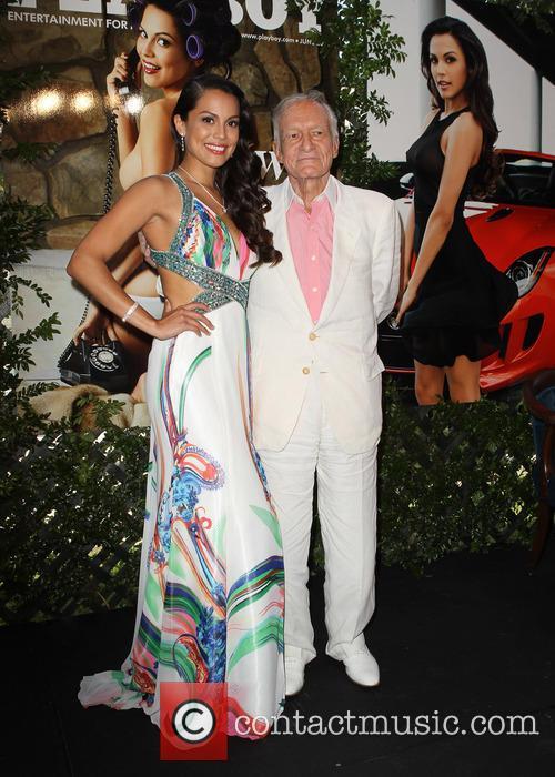 Raquel Pomplun and Hugh Hefner 3
