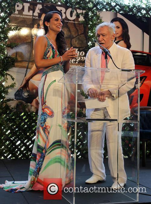 Raquel Pomplun and Hugh Hefner 7