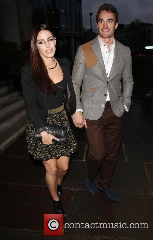 Jessica Lowndes and Thom Evans
