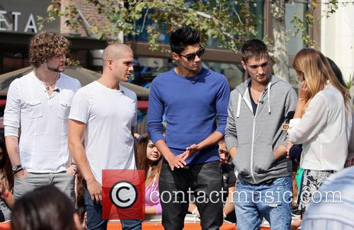 Jay McGuiness, Max George, Siva Kaneswaran, Tom Parker and Renee Bargh 4