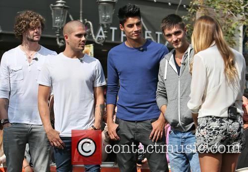 Jay McGuiness, Max George, Siva Kaneswaran, Tom Parker and Renee Bargh 6
