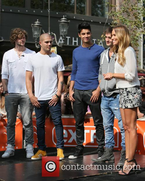 jay mcguiness max george siva kaneswaran tom parker renee bargh celebrities 3655616