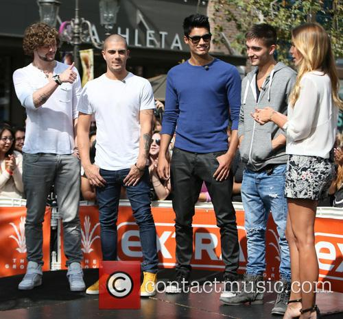Jay McGuiness, Max George, Siva Kaneswaran, Tom Parker and Renee Bargh 8