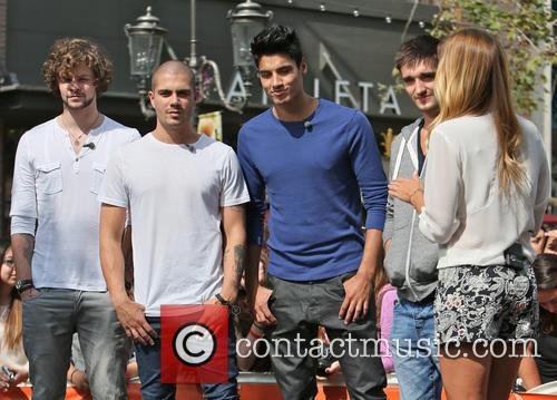 Jay McGuiness, Max George, Siva Kaneswaran, Tom Parker and Renee Bargh 10