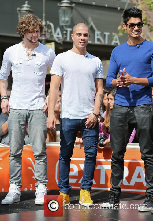 Jay Mcguiness, Max George and Siva Kaneswaran 4