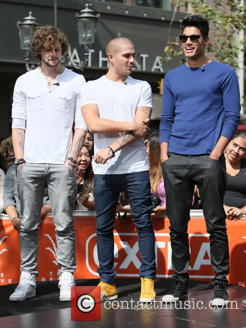 Jay Mcguiness, Max George and Siva Kaneswaran 5
