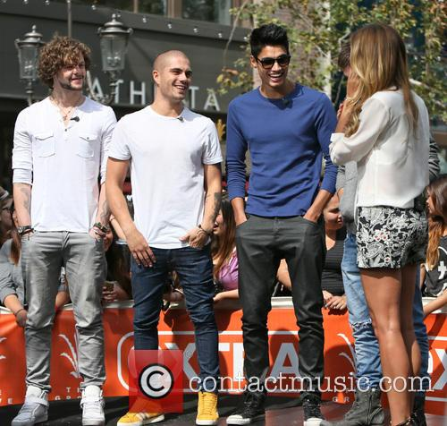 Jay Mcguiness, Max George, Siva Kaneswaran and Renee Bargh 8